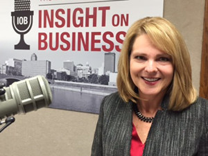 Click on the image to listen to the Insight on Business interview with Becky Rupiper-Greene.