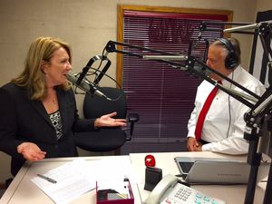 Click on the image to listen to the Insight on Business interview with Deborah Rinner.
