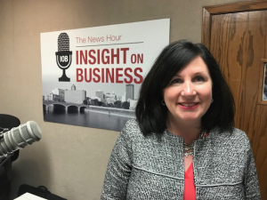 Click on the image to listen to Maureens's Insight on Business interview