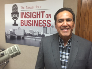 Click on the image to listen to Carlos' Insight on Business interview.