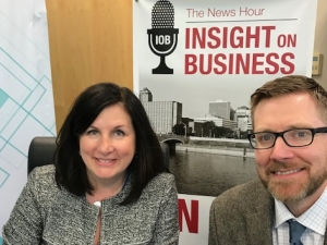 Click on the image to listen to Maureen and Ben's Insight on Business interview