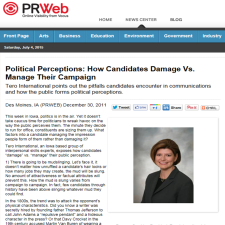 Click on the image for the PRWeb article.