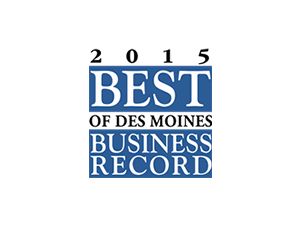 Click here for Des Moines Business Record 2015 Best Of announcement.