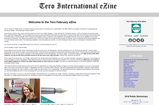 Click on the image to view the Tero February 2016 eZine.