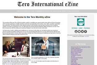 Click on the image to view the Tero July 2015 eZine.