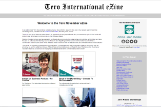 Click on the image to view the Tero November 2015 eZine.