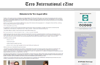 Click on the image to view the Tero August 2016 eZine.