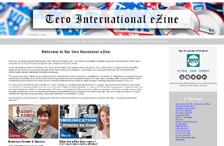 Click on the image to view the Tero November 2016 eZine.