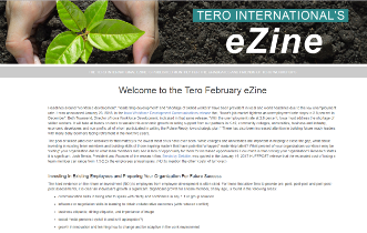 Click on the image to view the Tero February 2018 eZine.