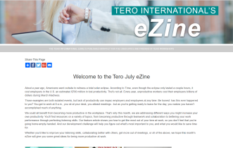 Click on the image to view the Tero July 2018 eZine.