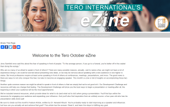 Click on the image to view the Tero October 2018 eZine.