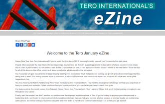 Click on the image to view the Tero January 2019 eZine.