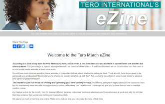 Click on the image to view the Tero March 2018 eZine.