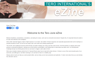 Click on the image to view the Tero June 2019 eZine.