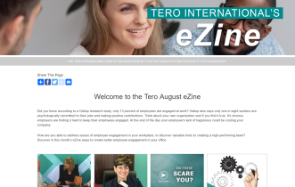 Click on the image to view the Tero August 2019 eZine.