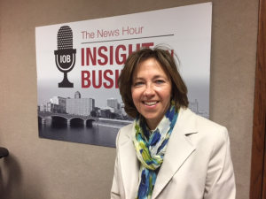 Click on the image to listen to Ann's Insight on Business interview.