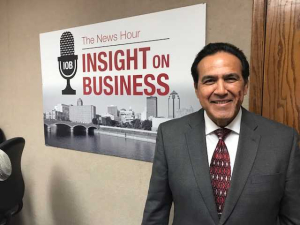 Click on the image to listen to Carlos' Insight on Business interview