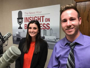 Click on the image to listen to Kyle and Rachel's Insight on Business interview.