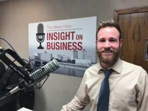 Click on the image to listen to Kyle's Insight on Business interview