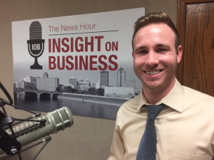 Click on the image to listen to Kyle's Insight on Business interview.