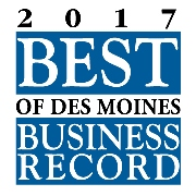 Click here for Des Moines Business Record 2017 Best Of article