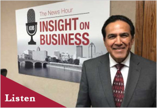 Click on the image to Carlos' Insight on Business interview.