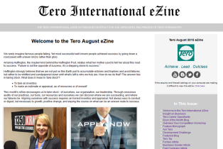 Click on the image to view the Tero August 2015 eZine.