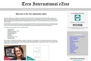 Click on the image to view the Tero September 2015 eZine.