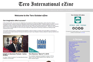 Click on the image to view the Tero October 2015 eZine.