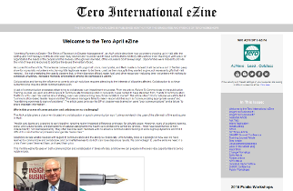 Click on the image to view the Tero April 2016 eZine.