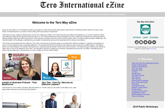 Click on the image to view the Tero May 2016 eZine.