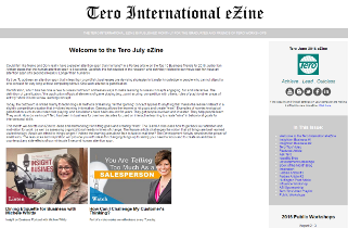 Click on the image to view the Tero July 2016 eZine.