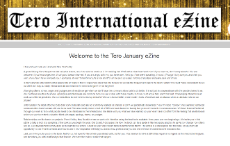 Click on the image to view the Tero January 2018 eZine.