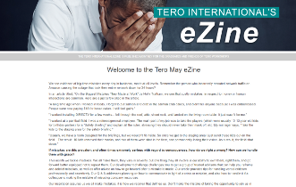 Click on the image to view the Tero May 2018 eZine.
