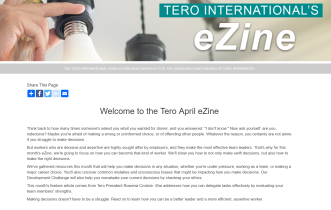 Click on the image to view the Tero April 2019 eZine.