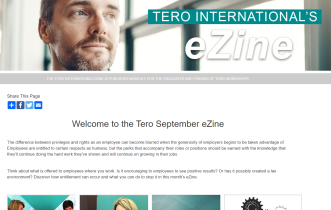 Click on the image to view the Tero September 2019 eZine.