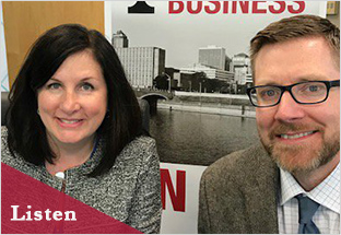 Click on the image to Ben and Maureen's Insight on Business interview.