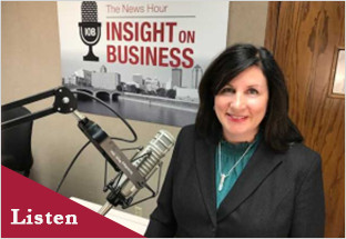 Click on the image to Maureen's Insight on Business interview.
